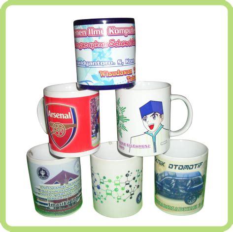 Aneka Mug Promosi alami digital printing aneka mug press