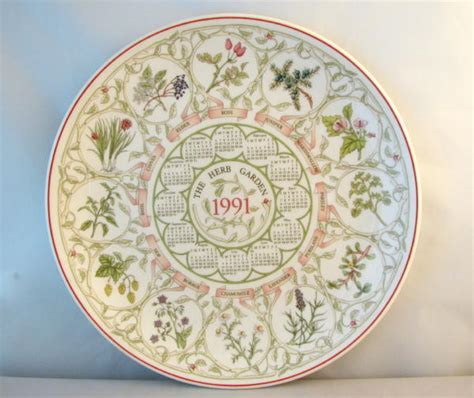 Garden With Plates Wedgwood Decorative Herb Garden Plate From The Country