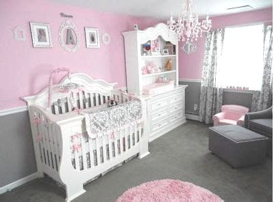 pink grey white baby girls room babies room pinterest pretty pink and gray princess nursery for our baby girl