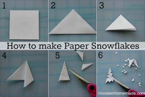 Make Snowflakes Out Of Paper - creative and amazing step by step method to prepare paper