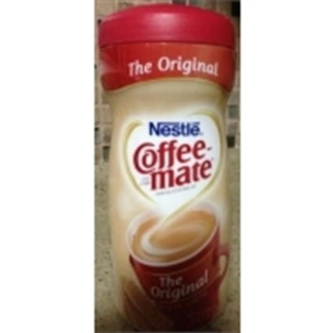 Nestle Coffeemate, Coffee Creamer: Calories, Nutrition Analysis & More   Fooducate