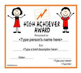 achievement awards templates achievement award template 12 word pdf documents
