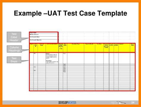 templates for user acceptance testing uat testing template excel calendar template excel