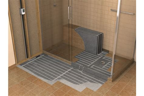 Heated Shower by Floor Heating Design Inspiration Westsidetile