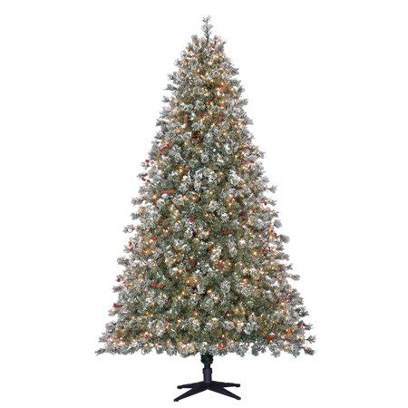 walmart christmas tree coupon time pre lit 7 5 covington fir artificial tree clear lights walmart