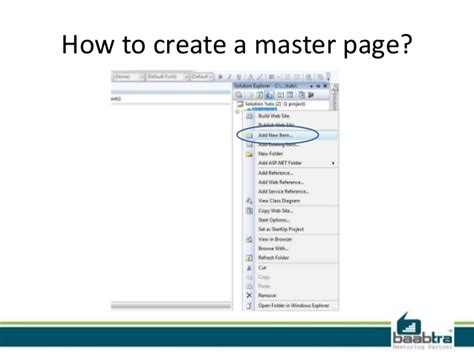 masterpage templates in asp net master page in asp net