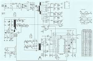 electro help kob ap4450xa 450w atx power supply schematic circuit diagram sg6105z