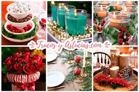 adornos navide241os reciclando 100 centros de navidad caseros para decorar la mesa