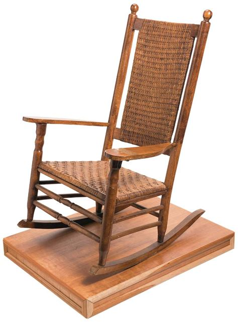 Kennedy Rocking Chair by The Rock Island Auction Riac Remembers The 50th Year