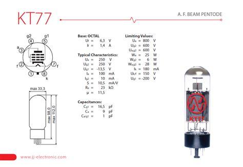 jj capacitor datasheet jj electronic kt77