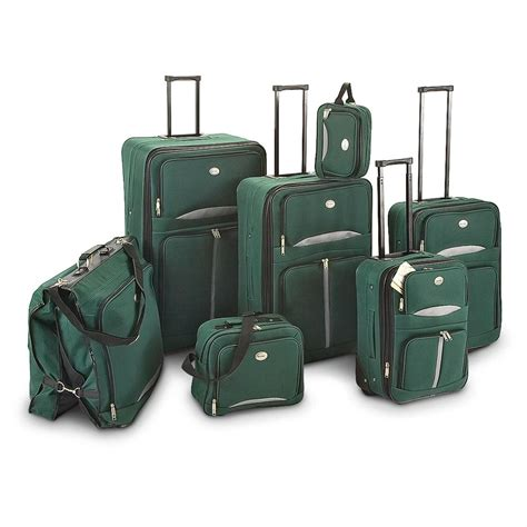 Backpack Kluge By Martin 2 In 1 kluge parkway 7 pc luggage set forest green 163635