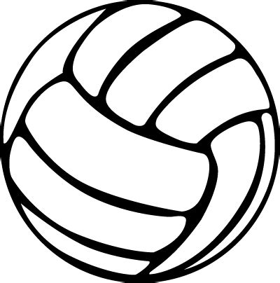 volleyball outline printable volleyball clipart awesome and free volleyball court