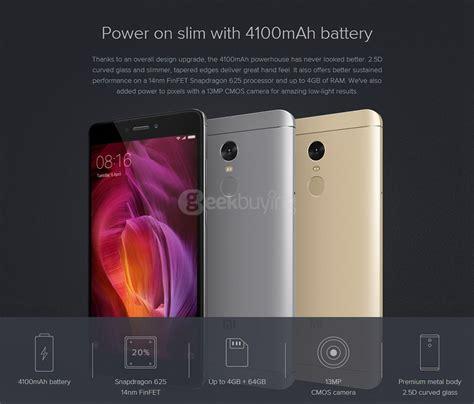 Xiaomi Redminote 4 offical global version xiaomi redmi note 4 4g 64gb