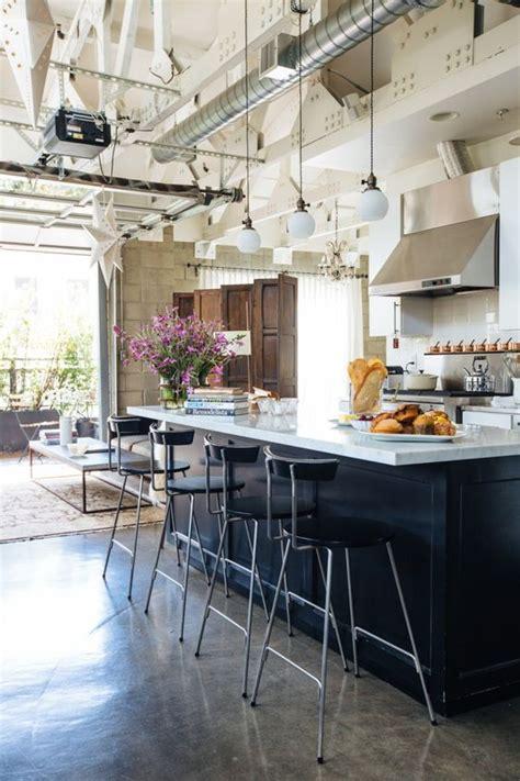 cuisine industrielle  inspirations pour  style