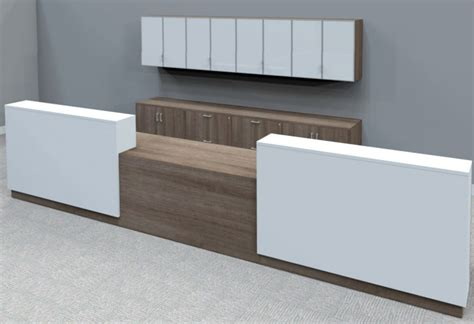 custom reception desk contrasts custom 2 person reception desk 16 w desk