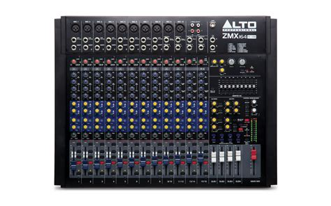 Mixer Alto Live alto professional live 164 16 channel mixer with effects stereo band equalizer and usb audio