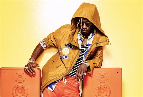 young thug gq young thug wears a custom rolex in gq editorial shoot