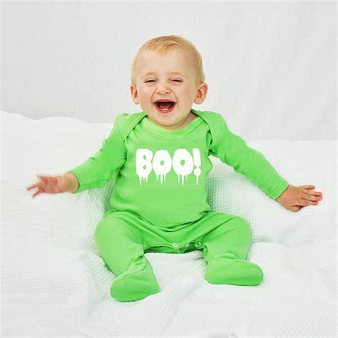 boo baby romper sleepsuit by ellie ellie notonthehighstreet