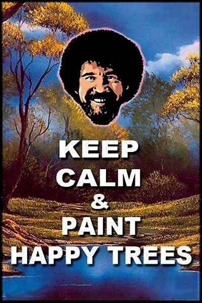 bob ross painting meme plant your favorite bob ross memes here
