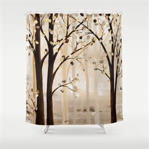 shower curtain brown shower curtain beige by
