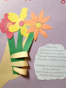 preschool crafts for kids mother s day flowers with hand