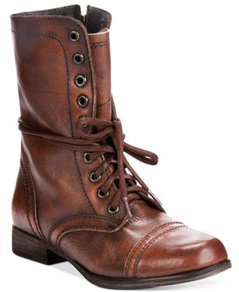 Steve Madden Boots by Steve Madden S Troopa Combat Boots Boots Shoes