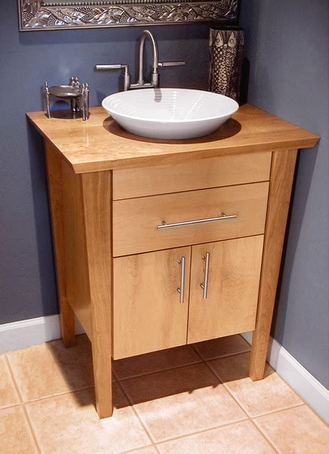 Bathroom Vanity For Pedestal Sink by Bathroom Vanity Pedestal With A Wood Top