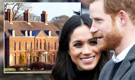 meghan markle home will prince harry and meghan markle be given this stately