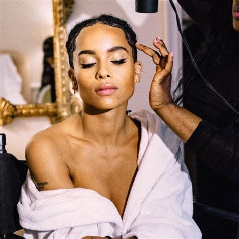 actress zoe kravitz actress zoe kravitz is the newest muse for ysl beauty