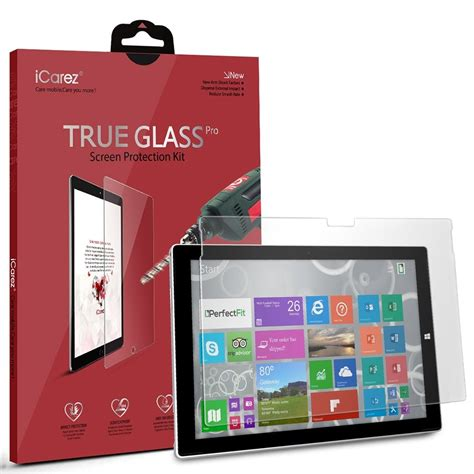 Tempered Glass Proscreen best glass screen protectors for surface pro 4 windows