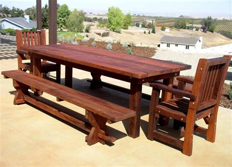 Cedar Patio Table Plans Wooden Patio Table Plans Outdoor Decorations