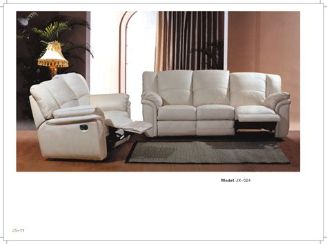 Living Room Sofas China Living Room Furniture Leather Sofa L Jx02 China Leather Sofa Sofa