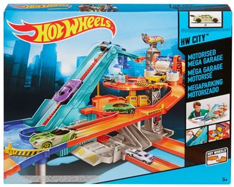 Hot Wheels Motorized Mega Garage Playset   Walmart.ca