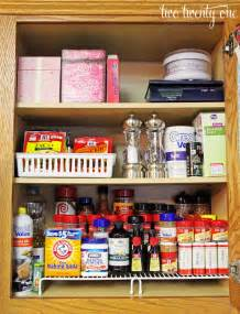 How To Organize The Kitchen Cabinets by Organizing The Spices Two Twenty One