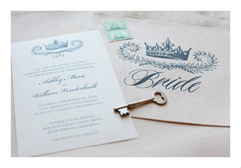 free printable crown invitations crown wedding invitation 72 beautiful wedding invite