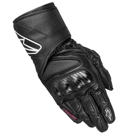 ladies motorcycle gloves alpinestars stella sp 8 full grain leather ladies