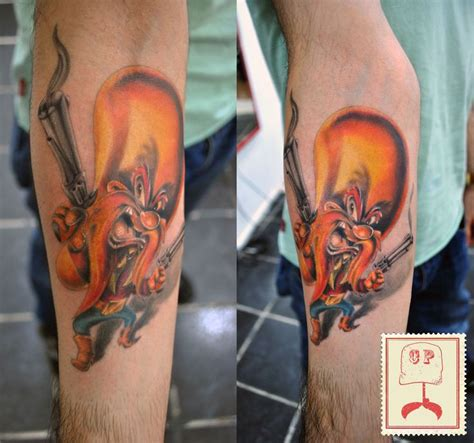 yosemite sam tattoo 18 best images on altered book book