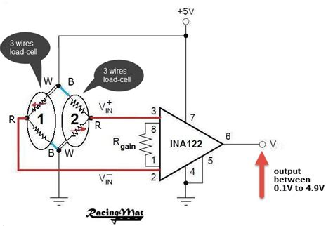 3 wire load cell wiring diagram 31 wiring diagram images