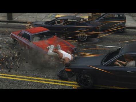 car crash in motion gta 5 random cars crash testing motion hd