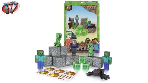 Minecraft Overworld Papercraft - minecraft overworld hostile mobs pack papercraft