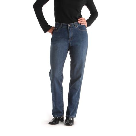 lee comfort fit lee comfort fit straight leg jean clothing women s