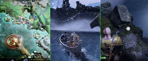 boat dock light elf outpost 12 treasure map locations and rewards list god of war
