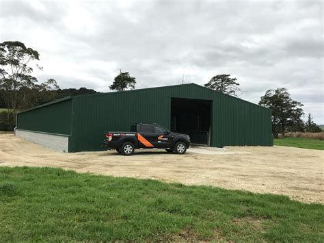 hukerenui calf rearing shed coresteel buildings