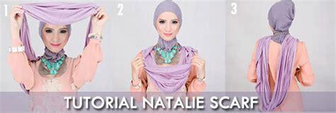 Nathali Style Jilbab tutorial instant cocok untuk yang nggak suka ribet