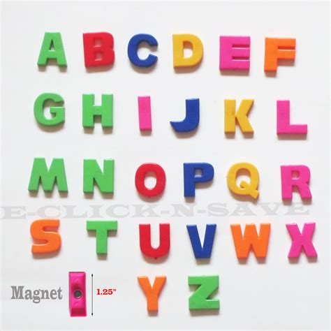 Alphabet Magnets by Colorful Abc Alphabet Fridge Magnets Early Letter Magnetic