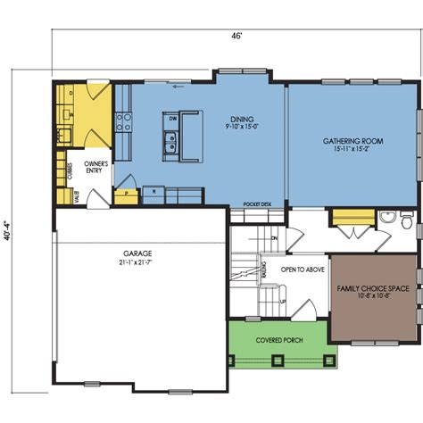 glacier floor plan 4 beds 2 5 baths 2195 sq ft wausau
