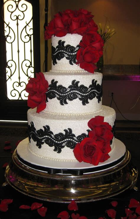 1525 best black and white cakes images on pinterest