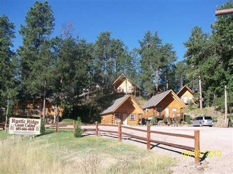 rustic ridge guest cabins keystone sd cground