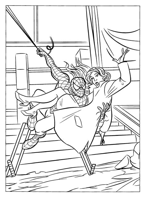 Free Printable Spiderman Coloring Pages For Kids Coloring Pages 4