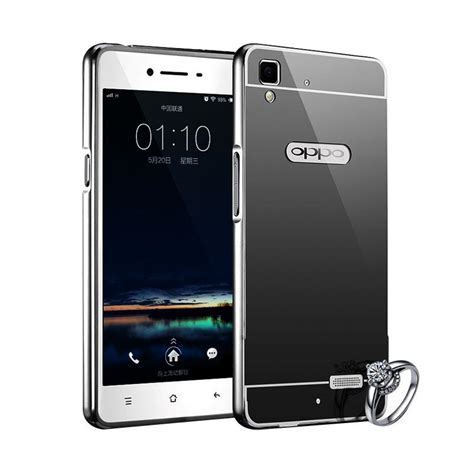 Casing Oppo A37 Neo 9 But Psy Hc Custom jual bumper chrome with backcase mirror casing for oppo neo 9 or a37 new black